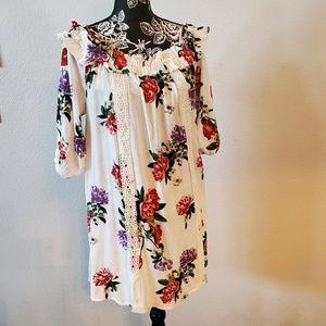 Romantic mini dress NWT